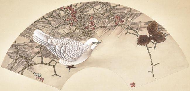 中国工笔画大家田云鹏教授作品欣赏