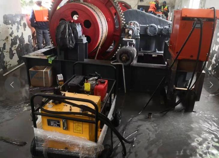 无电液控应急操作器助力龙潭水电站解除漫坝险情