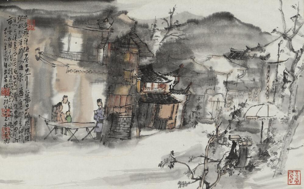 中国画名家贾荣志作品欣赏