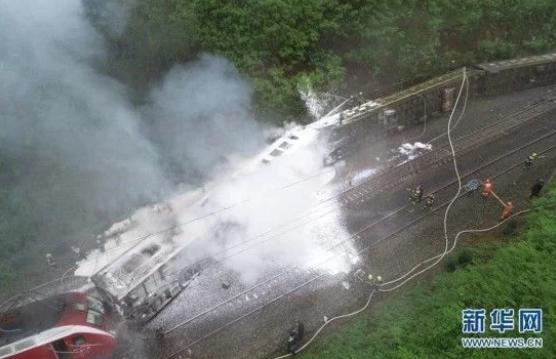 """""""3・30""""火车脱轨侧翻事故造成1人遇难4人重伤123人轻伤"""
